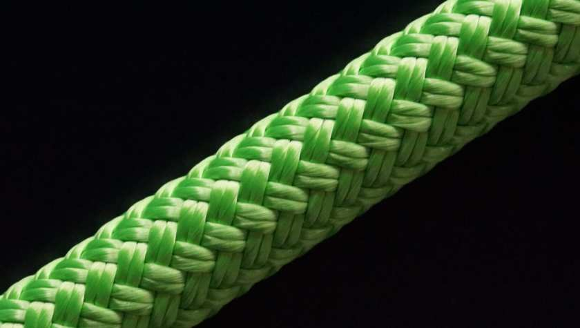 Duurzaam touw Rpet Line Recycled Pet Bottles Double Braided Rope Bottles Gerecycled touw