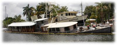 TowBoatUS Fort Lauderdale Historic 1930 Motor Yacht