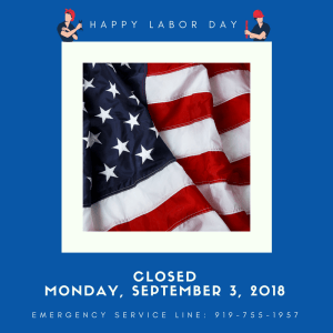 Tower Heating & Air Labor Day Weekend Hours