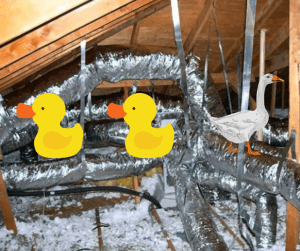 Its time to have your ductwork cleaned