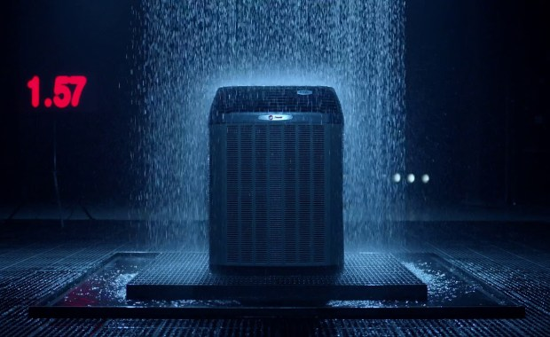 Trane Rain Test - Tower Heating & Air