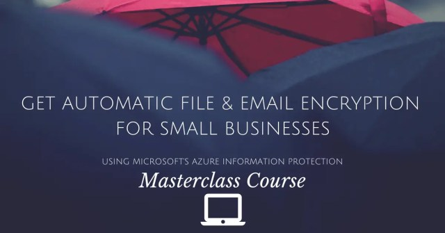 file and email encryption course image. click to take you to the course