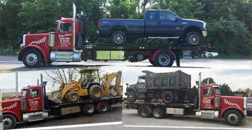 carroll county towing cars, heavy trucks