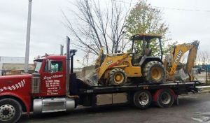 heavy equipment truck towing finksburg, MD