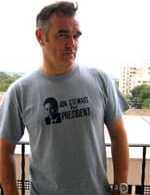 Morrissey Endorses Anyone But Bush, Jon Stewart if Possible