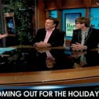 Comedy Panel Jokes About 'Coming Out' for the Holidays