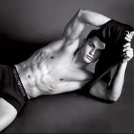 Cristiano Ronaldo Gets Drenched in <i>More</i> New Armani Photos