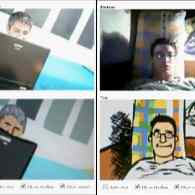Watch: Speed Painting in Chatroulette