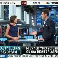 Watch: Thomas Roberts Talks with Miss New York Claire Buffie, About Her Gay Rights Platform