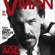 Josh Brolin Covers Vman