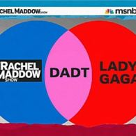 Watch: Even More Maddow on 'DADT' — Major Margaret Witt, the Senate Vote, and Lady Gaga Ven Diagram