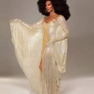 Photo: Candis Cayne as Diana Ross