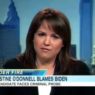Watch: Christine O'Donnell Blames Criminal Probe on VP Joe Biden