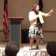 Watch: GOP Audience Gasps as Michelle Bachmann Tells Them She Was Once a Democrat, Worked for Jimmy Carter