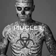 First Look: <br>Nicola Formichetti and Gaga Muse Rick Genest for Mugler