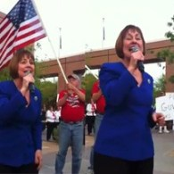 Wingnut Idol: Sharron Angle's Impromptu Tax Day Performance