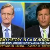 Watch: Tucker Carlson Says California LGBT Education Bill is 'Lying, Propaganda'
