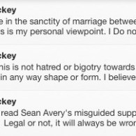 Major Hockey Agency Condemns NY Ranger Sean Avery for Support of Same-Sex Marriage