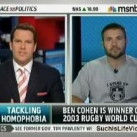 Watch: Thomas Roberts Talks to Ben Cohen About Quitting Rugby to Combat Homophobia and Bullying