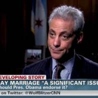 Chicago Mayor Rahm Emanuel Says He Hopes Illinois Will Move in the Direction of Same-Sex Marriage: VIDEO