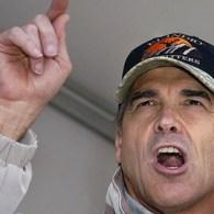 Perry Backs Anti-Gay Marriage Amendment, Questions Evolution