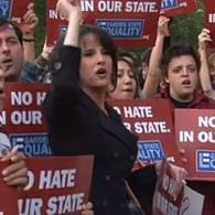 Hundreds Protest, Defend Teacher Over Anti-Gay Facebook Remarks at NJ School Board Meeting: VIDEO