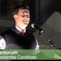 Protesters Arrested, Tased After Heckling, Glittering Rick Santorum in Tacoma, Washington: VIDEOS