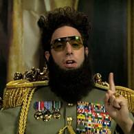 Sacha Baron Cohen's Dictator Releases Statement Condemning Oscar Producers for Banning Him: VIDEO
