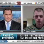Gay Marine Brandon Morgan Talks to Thomas Roberts About Homecoming Photo, Breaking Stereotypes: VIDEO