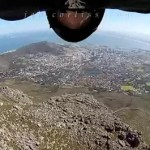 Insane Clip of Base Jumper 'Birdman' Jeb Corliss' Crash into Cape Town's Table Mountain: VIDEO