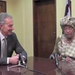 Tony Blair Won't Comment as Liberian President Says She Prefers a Society That Throws Gays in Jail: VIDEO