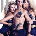 Tom Cruise Rocks Guyliner, Gun Tatts for 'W' Magazine