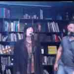 Patti Smith And Russell Crowe, Blowing Minds In Reykjavik: VIDEO