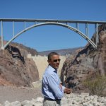 Obama and Romney Pay Pre-Debate Visits to the Hoover Dam and Chipotle, Respectively: VIDEO