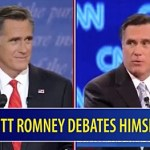 Mitt Romney Debates Himself, Round 2: VIDEO