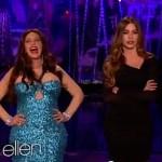 Ellen is Sofia Vergara for Halloween: VIDEO