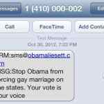 HRC To FCC: Investigate Texts Saying Obama 'Forcing' Gay Marriage