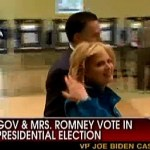 Mitt and Ann Romney Cast Votes in Massachusetts: VIDEO