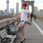 In Five Days, Jacob Tobia Will Run Across the Brooklyn Bridge in Stilettos for Homeless LGBT Youth: VIDEO