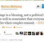 GOP AG's Wife Supports Marriage Equality, Says GOP Should Get A Life