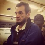 Abraham Lincoln Flies Coach: PHOTO