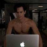 Matt Bomer as a Shirtless Surrogate Stealer on 'The New Normal' VIDEO