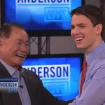 Gay NJ Teen Who Came Out to Entire Class Meets His Idol George Takei on 'Anderson Live': VIDEO