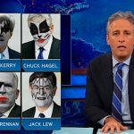 Jon Stewart Responds to Complaints Obama's Cabinet is Too White: VIDEO