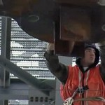 World Trade Center Spire Anchored in Place: VIDEO