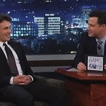 James Franco Shows Jimmy Kimmel His 'Gay Town' Portraits of Speedo-Clad Water Polo Players: VIDEO