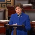 Senator Jeanne Shaheen Honors Deceased Lesbian Guardsman Charlie Morgan in Emotional Floor Speech: VIDEO