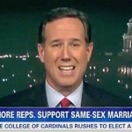 Rick Santorum: I Like Ken Mehlman, But Gay Marriage 'Not in the Best Interest of the Country': VIDEO