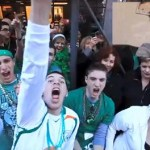 St. Patrick's Day (Through Google Glass): VIDEO