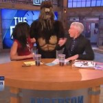 Anderson Cooper Gets Frightened by a Sasquatch: VIDEO